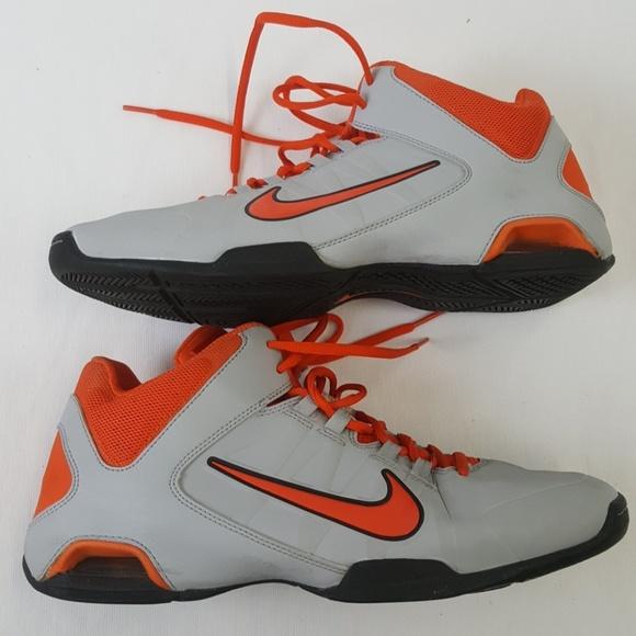 b83fdf7a835 Nike air visi pro 4 gray orange sneakers size 9. M 5a74b7dccaab44f6121a8349